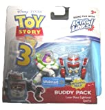 TOY STORY 3 Action Links Buddy Pack LASER BUZZ LGHTYEAR and SPARKS
