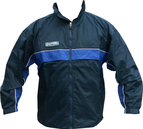 Men's PROSTAR Aztec Rain Jacket Training Top Navy / Royal Blue (XXL  (50 - 52 chest))