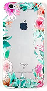 IPhone 6/6s Case, YogaCase InTrends Silicone Back Protective Cover (Floral Print)
