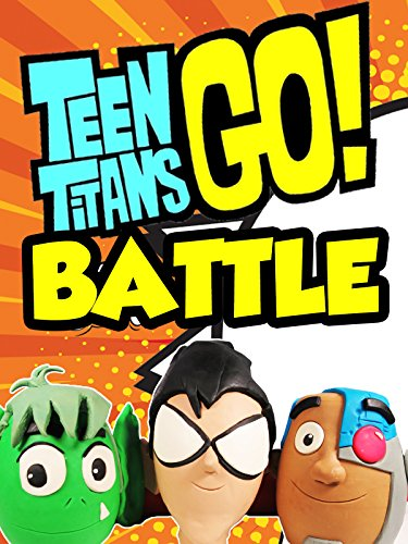 TEEN TITANS GO! Battle- BEAST BOY vs CYBORG vs ROBIN Surprise Eggs Filled With Teen Titans Toys