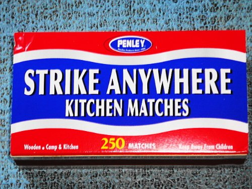 Purchase Penley Strike Anywhere Matches 250 Count Per Box