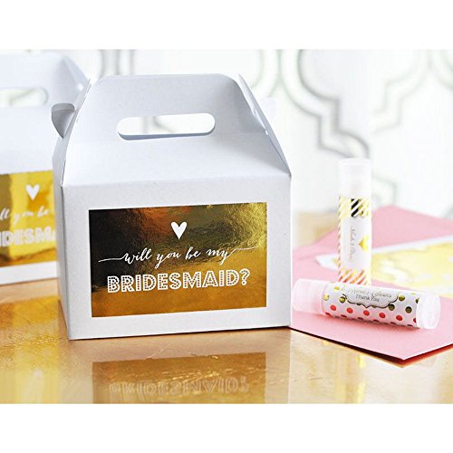 Bridesmaid and Maid of Honor Question Gift Boxes - Set of 8 Assorted