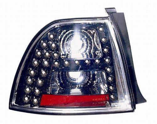 Depo 317-1968Pxus2 Honda Accord Coupe/Sedan Black Led Tail Light