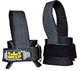 Buy 2 & Get 1 FREE! Best Heavy Duty Lifting Straps Neoprene Padded (1 Pair) | Wrist Wraps & Rubbery Grip Support Straps with Cotton Coated Rubber on One Side | Alternative to Power Lifting Hooks Weightlifting Grip Pad | Weight Lifting No-Slip Padded Straps For Bodybuilding 1 Year Replacement Warranty