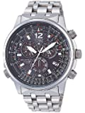 Citizen - AS4050-51E - Montre Homme - Chronographe - Bracelet Titane
