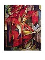 Especial Arte Lienzo Foxes - Mark Franz Multicolor