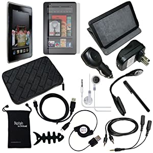 Top 10 kindle fire hd accessories with black friday cyber monday digitalsondemand 15 item accessory bundle for kindle fire 7 digitalsondemand has currently come up with an interesting set of accessories for your tablet publicscrutiny Image collections