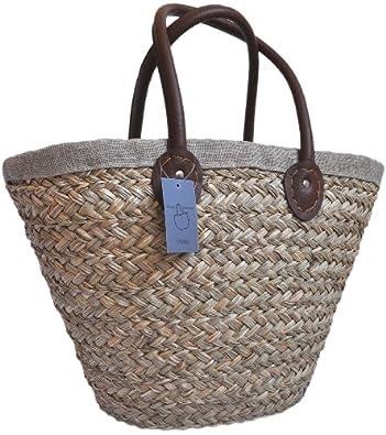 beach bag sac de plage en paille pas cher. Black Bedroom Furniture Sets. Home Design Ideas