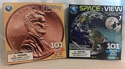 Round Puzzle Bundle/Penny & Space View