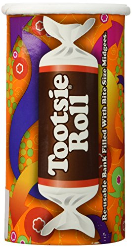 4 Oz. Easter Tootsie Roll Fun Bank - 1