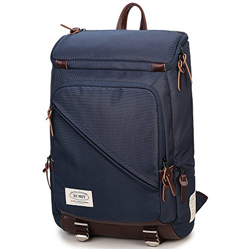 zumit-laptop-backpack-133-14-inch-professional-business-bag-rucksack-water-resistan-blue-805