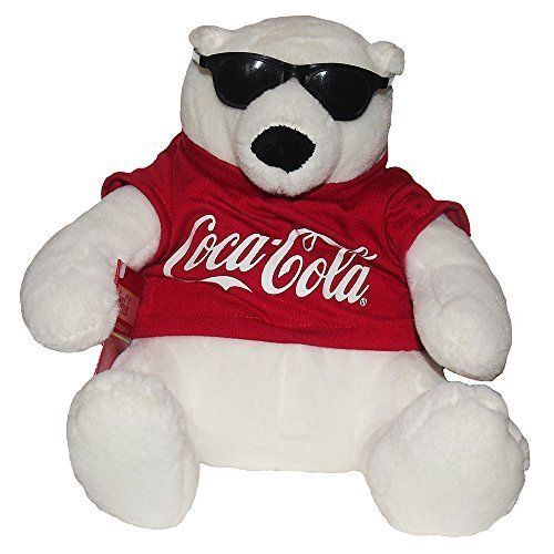 Coca-Cola Coke Bear Collectible Plush With Sunglasses (Coca Cola Plush Bear compare prices)