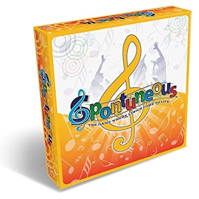 Spontuneous Party Board Game - The Game Where Lyrics Come To Life from Spontuneous Games