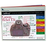 Blue Crane Digital Canon Rebel T3i inBrief Laminated Reference Card  (zBC539)