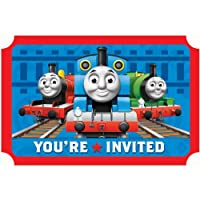 Thomas the Tank Invitations Party Accessory by AMSCAN *
