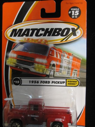 1956 Ford Pickup Matchbox Highway Heroes Series #15 - 1