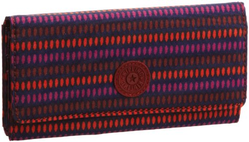 Kipling Unisex-Adult Brownie Wallet Waterfall Print K10201
