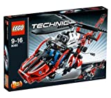 Technic - Rescue Helicopter - 8068 + Technic - Mini Container Truck - 8065