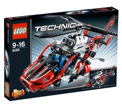 Technic – Rettungshubschrauber – 8068 + Technic – Mini-Kipplaster – 8065 jetzt kaufen