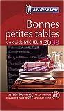 echange, troc Michelin - Bonnes petites tables du guide Michelin