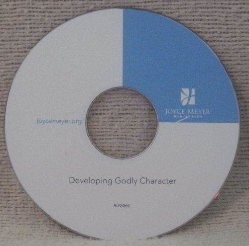Joyce Meyer Teaching of the Month Developing Godly Character Aug. 2006 (Developing A Godly Character compare prices)
