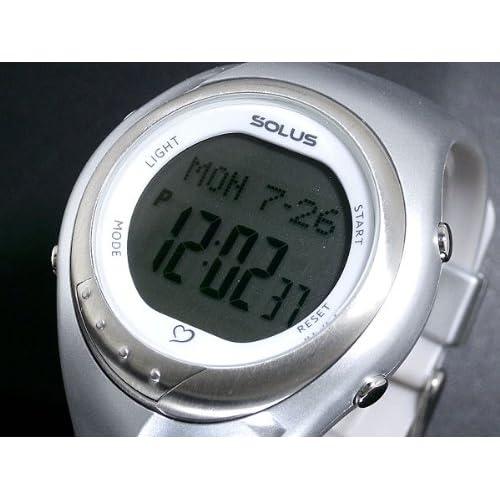 ソーラス SOLUS 心拍計測機能付き デジタル 腕時計 01-300-03