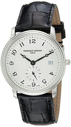 Frederique Constant FC-245AS4S6 - Reloj de pulsera hombre, sintético, color negro