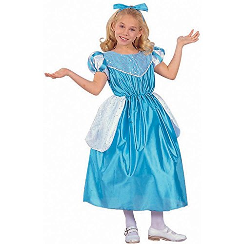 Kid's Cinderella Girl Halloween Costume (Size: Small 4-6)