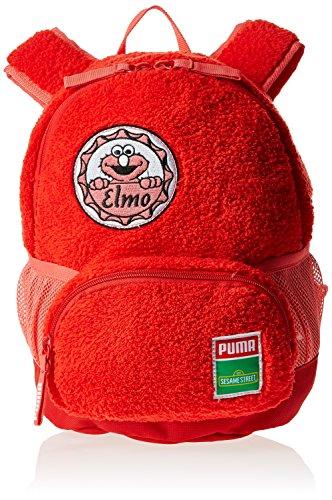 Puma Sesame Street S, Zaino per bambini, Rosso (Rouge (High Risk Red/Elmo)), taglia unica
