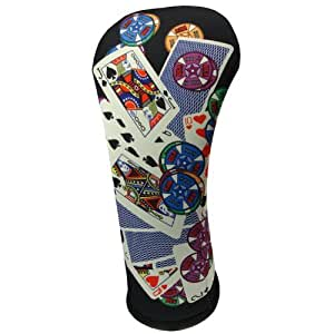 """""""ALL IN"""" Fairway Wood Head Cover by BeeJo Fun Golf Gift"""