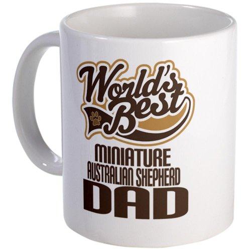 Cafepress Miniature Australian Shepherd Dad Mug - Standard