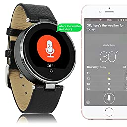 Indigi® Bluetooth Fitness Smart Watch Phone SIRI Built-in Heart Rate Monitor Pedometer For All iPhone 6 6s plus Android Galaxy S6 edge Note 5