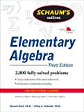img - for Schaum's Outline of Elementary Algebra, 3ed (Schaum's Outline Series) book / textbook / text book