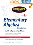 Schaum's Outline of Elementary Algebr...