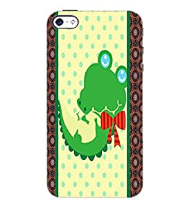 PrintDhaba Cartoon D-5808 Back Case Cover for APPLE IPHONE 4S (Multi-Coloured)