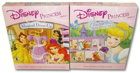 Disney Princess Magical Dress Up and Cinderella's Dollhouse