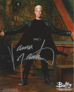 Buffy the Vampire Slayer Signed Autographed James Marsters as Spike 8x10 Photo