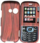Wood Design LG Cosmos VN250, LG Rumor 2, LX/UX/265, LG Script 265 Case Cover Hard Snap-on Rubberized Touch Phone Cover Case Faceplates