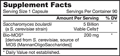 Jarrow Formulas - Saccharomyces Boulardii+ Mos, 5 billion, 90 veggie caps