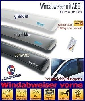Set mit Parkscheibe Farbausf/ührung: rauchgrau mit ABE ClimAir Windabweiser vorne 03-3063