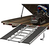 "60"" x 54"" Snowmobile Loading Ramp with Extra Wide Glides"