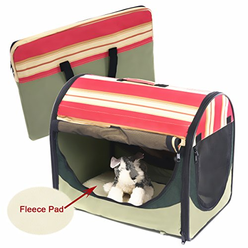 Favorite Soft Sided Pet Portable Carrier Airline Approved Travel for Dogs, Cats and Puppies