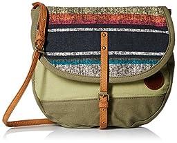 Roxy Evergreen Shoulder Handbag, Military Olive, One Size