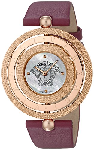 Versace-Womens-VQT030015-Eon-Analog-Display-Quartz-Red-Watch