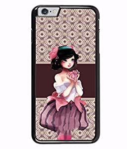 Fuson 2D Printed Girly Designer back case cover for Apple iPhone 6S Plus - D4363