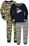 Carters Baby-boys Lion 4 Piece Cotton Set