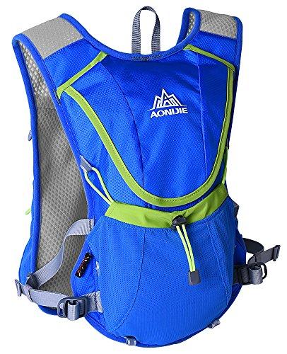 WATERFLY corsa-Zaino ultraleggero impermeabile, Racksack-Borsa a tracolla Unisex sportive da donna da ciclismo/Running Marathon-Zaino Daypack può contenere acqua, 2 l