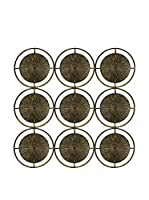 ZZ-COLONIAL CHIC Decoración Pared Circles