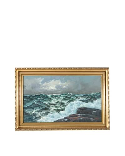 Seascape, Carl Berg Framed Artwork As You See
