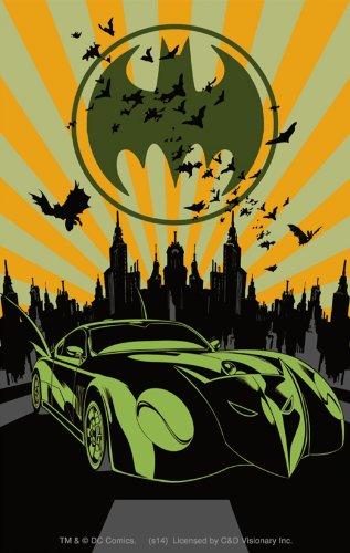 Licenses Products DC Comics Batman Bat Mobile Sticker - 1